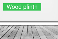 Плинтус Wood-plinth - купить по выгодной цене в Москве с доставкой
