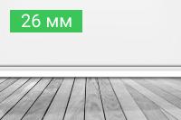 Плинтус 26 мм - купить по выгодной цене в Москве с доставкой