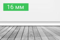 Плинтус 16 мм - купить по выгодной цене в Москве с доставкой