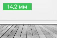 Плинтус 14,2 мм - купить по выгодной цене в Москве с доставкой